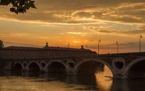 Garonne, Toulouse, France, Pont, Neuf