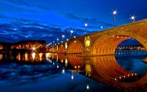 France, Toulouse, Garonne, Pont, Neuf
