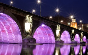 Pont, Neuf, Garonne, Toulouse, France