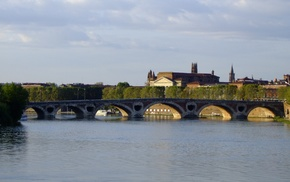 Toulouse, Garonne, France, Pont, Neuf