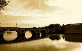 Toulouse, Pont, Neuf, France, Garonne