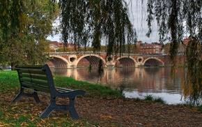 Garonne, France, Pont, Neuf, Toulouse