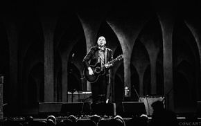 Indianapolis, arch, stages, monochrome, USA, Billy Corgan