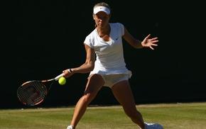 girl, Katie Swan, tennis rackets, tennis