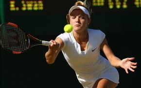 tennis, girl, Katie Swan, tennis rackets