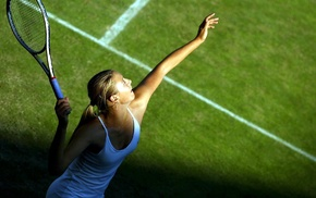 Maria Sharapova, tennis, girl, blonde