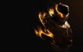 video games, artwork, Halo