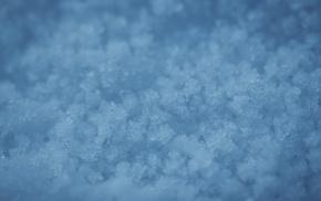 ice, snow, macro