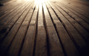 vignette, planks, depth of field, wood