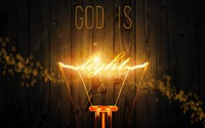 God, Jesus Christ, lights