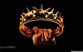 Game of Thrones, hands, crown
