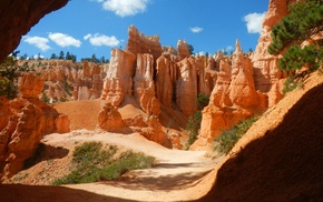 canyon, nature