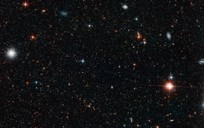 galaxy, space, stars
