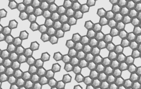hexagon, bright, cells, simple, tile