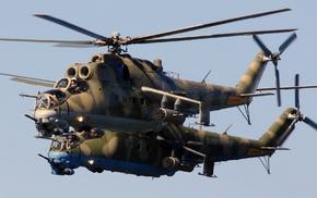 army gear, army, helicopters, Mil Mi, 24