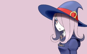 Little Witch Academia, witch, anime, Manbavaran Sucy, anime girls