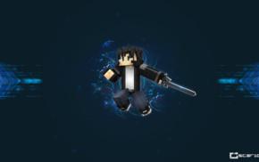 Kirigaya Kazuto, Minecraft, Sword Art Online, video games