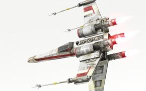 Star Wars Battlefront, spaceship, Star Wars, X, wing
