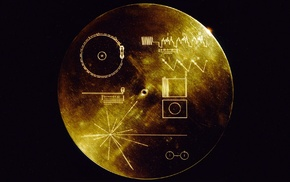 space, Voyager Golden Record, Voyager