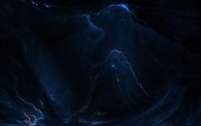 Starkiteckt, space art, nebula, space