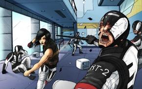 Mirrors Edge Catalyst, artwork, video games