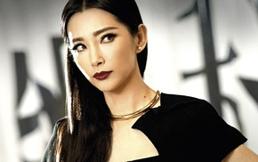 looking away, necklace, movies, brown eyes, Transformers Age of Extinction, Asian