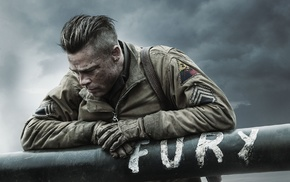 Fury, movies, Fury movie, Brad Pitt, World War II