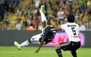 Moussa Sow, Fenerbahe, Besiktas J.K., bicycle kick