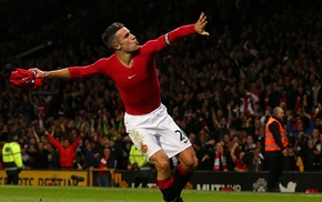 men, Robin van Persie, Manchester United