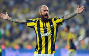 tattoo, raul meireles, beards, Portugal, Fenerbahe