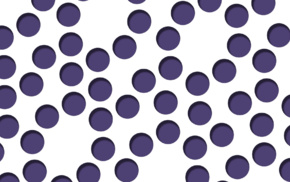 circle, polka dots