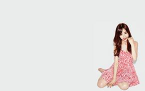 Korean, AOA, Kwon Mina, white background, girl