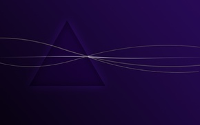 triangle, minimalism