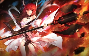 anime, fire, Itsuka Kotori, anime girls, Date A Live, swd3e2