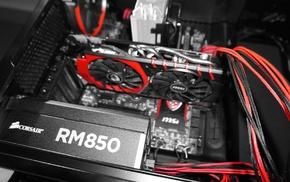 MSI, Corsair, GTX980, PC gaming, Cablemods