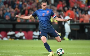 Netherlands, men, Robin van Persie