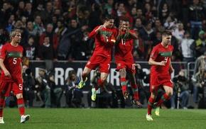 Cristiano Ronaldo, Portugal, Nani, fabio coentrao, miguel veloso