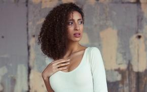 model, girl, portrait