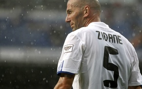 Zinedine Zidane, footballers, soccer