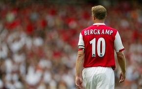Arsenal, soccer, footballers, Netherlands, Dennis Bergkamp