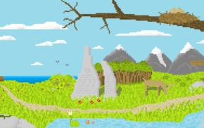 pixels, nature