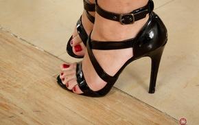 high heels, feet, girl, tattoo, Jojo Kiss