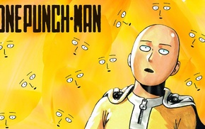 manga, One, Punch Man, Saitama