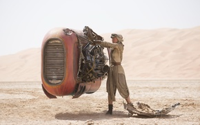 Star Wars, Daisy Ridley, Star Wars The Force Awakens