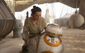BB, 8, Star Wars, Daisy Ridley, Star Wars The Force Awakens