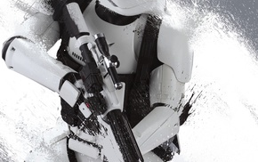 stormtrooper, Star Wars The Force Awakens, Star Wars, Storm Troopers