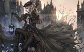 anime, Lady Maria, hat, Gothic, anime girls, original characters