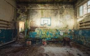 old building, ruin