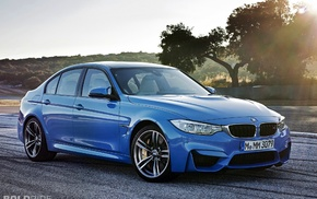 BMW, German cars, blue cars, car