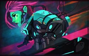 cyberpunk, futuristic, artwork